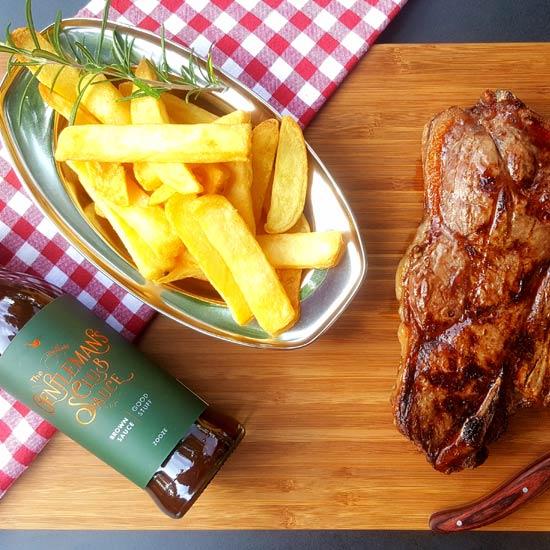 brown-sauce-gentleman-club-steak-french-fries-zooze